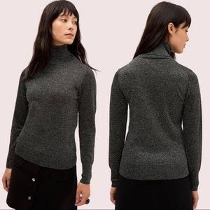Kate Spade New York Metallic Turtleneck Sweater